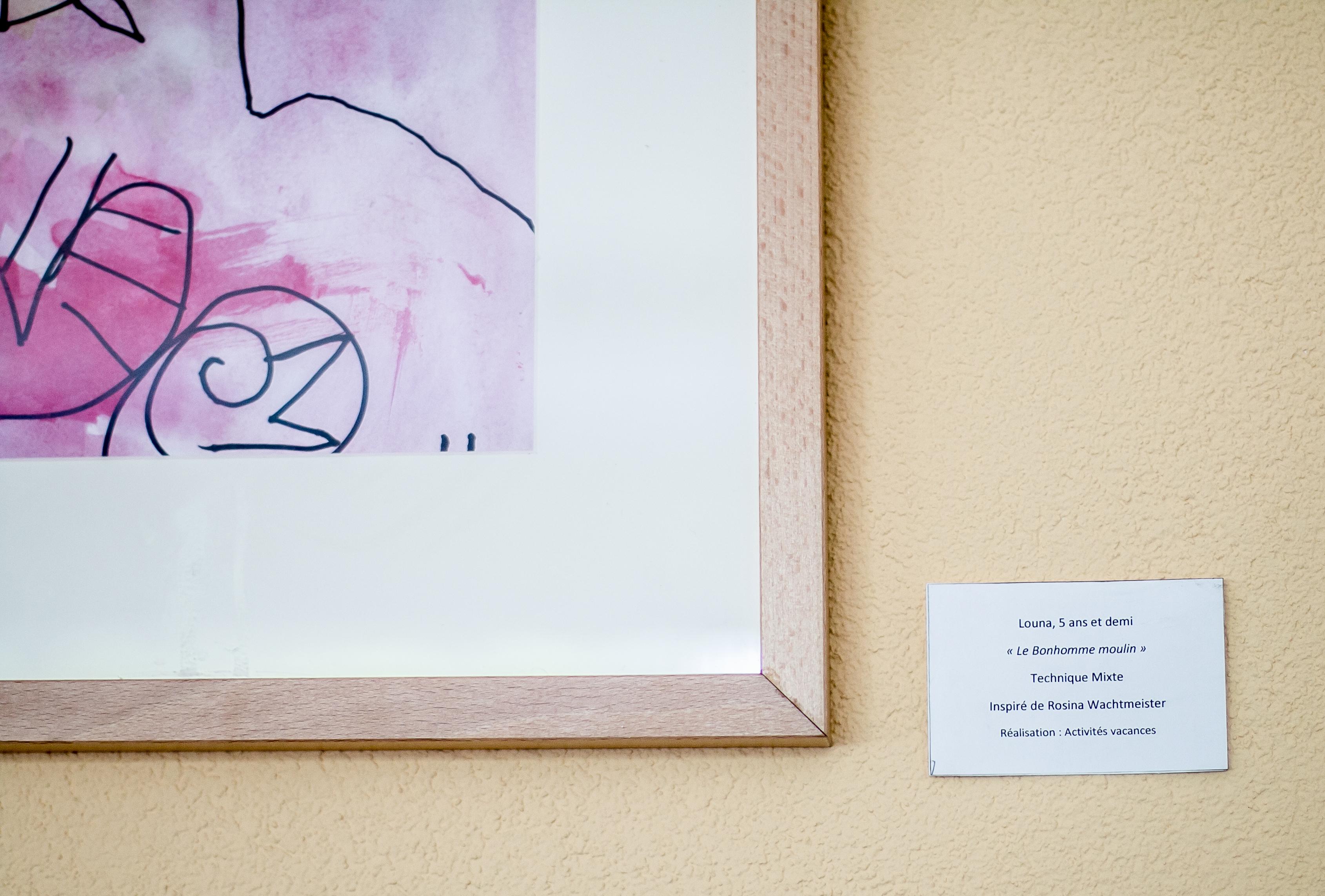 exposition des p'tits artistes